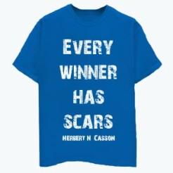 Every Winner Has Scars - Blue