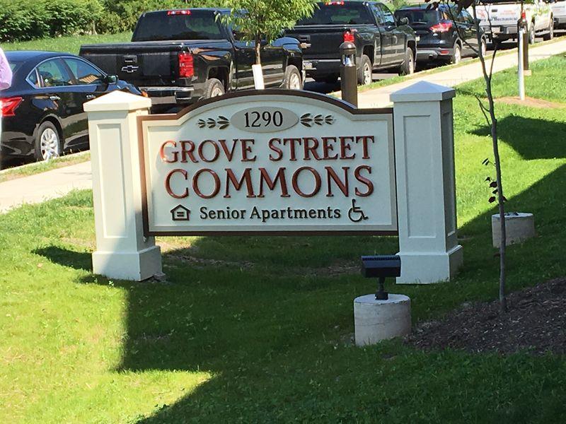 Grove Street Sign