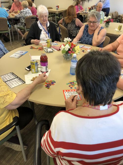 Picnic bingo group 2